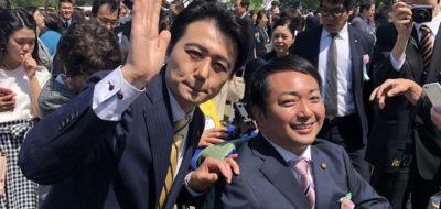 安倍総理にご招待いただき、桜を見る会に参加。
